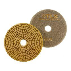 TLS SPIDER PRO10-P3000-d125 mm-gyémánt csiszolókorong-polírozó korong-vizes