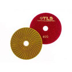 TLS SPIDER PRO10-P400-d125 mm-gyémánt csiszolókorong-polírozó korong-vizes