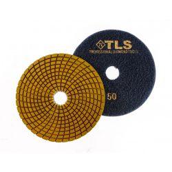 TLS SPIDER PRO10-P50-d125 mm-gyémánt csiszolókorong-polírozó korong-vizes