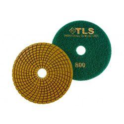TLS SPIDER PRO10-P800-d125 mm-gyémánt csiszolókorong-polírozó korong-vizes