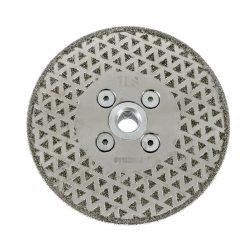 TLS ELECTROPLATED DISC gyémánttárcsa száraz gérvágáshoz és csiszoláshoz 2 oldalas M14 x D115 mm