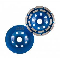 TLS DOUBLE ROW betonmaró gyémánttárcsa dupla soros D115x22,23 mm kék