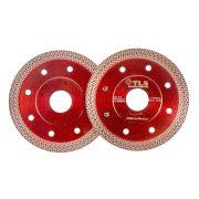 TLS K-PRO ultravékony gyémánt vágókorong d105x22,23x1,2x10 mm