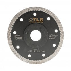 TLS DYNAMITE ultravékony gyémánt vágókorong d115x22,23x1,3x8 mm
