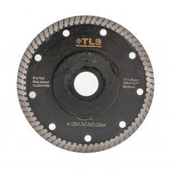 TLS DYNAMITE TURBO ultravékony gyémánt vágókorong d125x22,23x1,3x8 mm