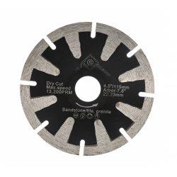 TLS T-SHAPE CONCAVE  gyémánt vágókorong körkivágó d125x22,23x2,6x10 mm