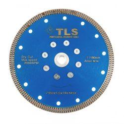 TLS X-PRO M14 ultravékony gyémánt vágókorong d180x1,6x10 mm