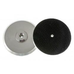 TLS ALU alumínium tányér tépőzáras d125 mm gyémánt polírozó korongokhoz