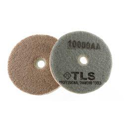 TLS SPONGE 10000AA-d100 mm-gyémánt csiszolókorong-polírozó korong-kemény szivacs