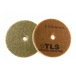 TLS SPONGE 150AA-d100 mm-gyémánt csiszolókorong-polírozó korong-kemény szivacs