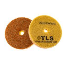 TLS SPONGE 300AA-d100 mm-gyémánt csiszolókorong-polírozó korong-kemény szivacs