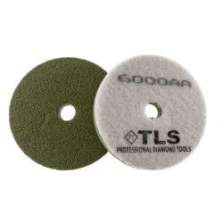 TLS SPONGE 6000AA-d100 mm-gyémánt csiszolókorong-polírozó korong-kemény szivacs