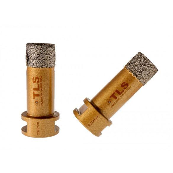 TLS VIPER-PRO gyémánt lyukfúró 20 mm arany