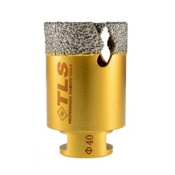 TLS VIPER-PRO gyémánt lyukfúró 40 mm arany