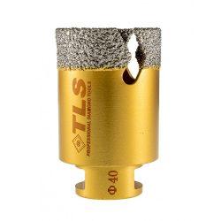 TLS VIPER-PRO 40 mm gyémánt lyukfúró arany
