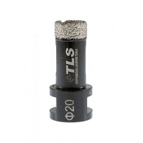 TLS COBRA 20 mm gyémánt lyukfúró fekete