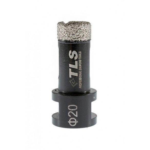 TLS COBRA gyémánt lyukfúró 20 mm fekete