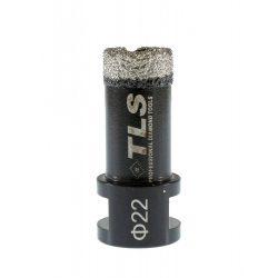 TLS COBRA gyémánt lyukfúró 22 mm fekete