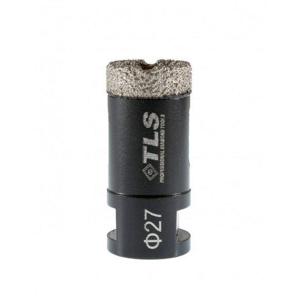 TLS COBRA 27 mm gyémánt lyukfúró fekete