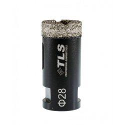 TLS COBRA gyémánt lyukfúró 28 mm fekete