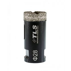TLS COBRA 28 mm gyémánt lyukfúró fekete