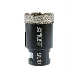 TLS COBRA 35 mm gyémánt lyukfúró fekete