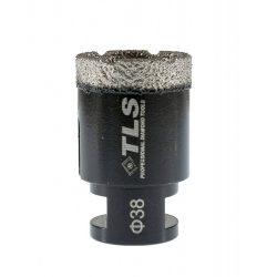 TLS COBRA gyémánt lyukfúró 38 mm fekete