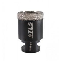 TLS COBRA gyémánt lyukfúró 40 mm fekete