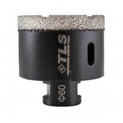TLS COBRA 60 mm gyémánt lyukfúró fekete