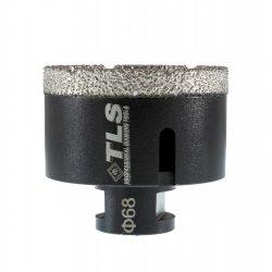 TLS COBRA 68 mm gyémánt lyukfúró fekete