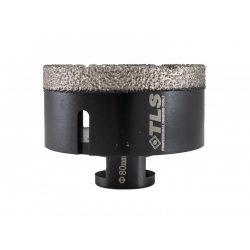 TLS COBRA 80 mm gyémánt lyukfúró fekete