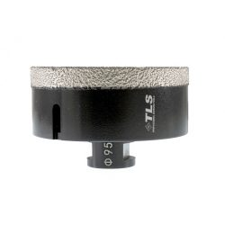TLS COBRA 95 mm gyémánt lyukfúró fekete