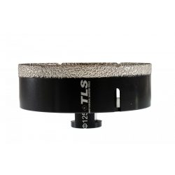 TLS COBRA 125 mm gyémánt lyukfúró fekete