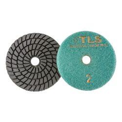TLS SPIDER5-P2-150-d100 mm-gyémánt csiszolókorong-polírozó korong-vizes
