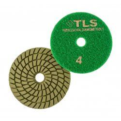 TLS SPIDER5-P4-800-d100 mm-gyémánt csiszolókorong-polírozó korong-vizes