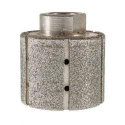 TLS DRUM DRY-P46-d50-M14 mm-gyémánt galvánkötésű csiszolóhenger-polírozó dobkerék-száraz