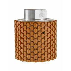 TLS DRUM WET-P100-d50-M14 mm-gyémánt csiszolóhenger-polírozó dobkerék-vizes