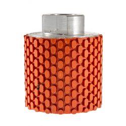TLS DRUM WET-P400-d50-M14 mm-gyémánt csiszolóhenger-polírozó dobkerék-vizes
