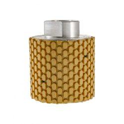 TLS DRUM WET-P800-d50-M14 mm-gyémánt csiszolóhenger-polírozó dobkerék-vizes