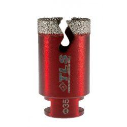 TLS VIPER gyémánt lyukfúró 35 mm bordó