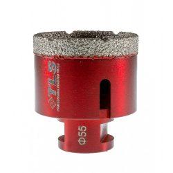TLS VIPER gyémánt lyukfúró 55 mm bordó