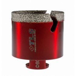 TLS VIPER 60 mm gyémánt lyukfúró bordó