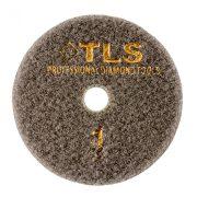 TLS TRAP5-P1-50-d100 mm-gyémánt csiszolókorong-polírozó korong-száraz-vizes