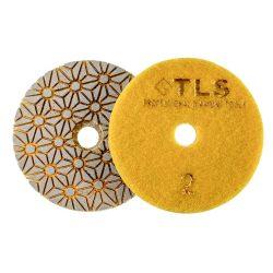 TLS TRAP5-P2-150-d100 mm-gyémánt csiszolókorong-polírozó korong-száraz-vizes