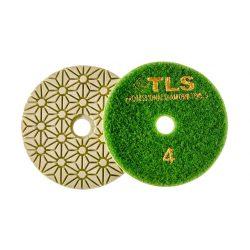 TLS TRAP5-P4-800-d100 mm-gyémánt csiszolókorong-polírozó korong-száraz-vizes