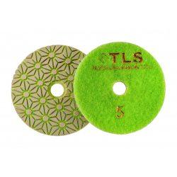 TLS TRAP5-P5-2000-d100 mm-gyémánt csiszolókorong-polírozó korong-száraz-vizes