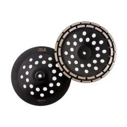 TLS DOUBLE ROW gyémánt betoncsiszoló-csiszolótárcsa kétsoros d230mm x M14