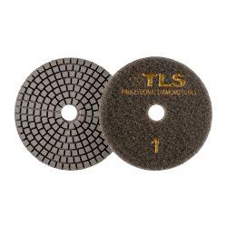 TLS VULCAN-P1-50-d100 mm-gyémánt csiszolókorong-polírozó korong-száraz-vizes