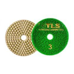 TLS VULCAN-P3-1000-d100 mm-gyémánt csiszolókorong-polírozó korong-száraz-vizes