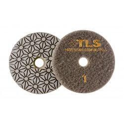 TLS TRAP3-P1-50-d100 mm-gyémánt csiszolókorong-polírozó korong-száraz-vizes
